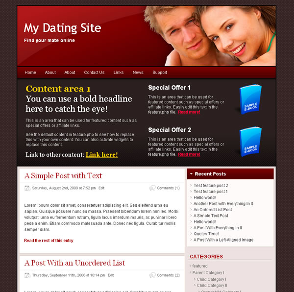 Dating websites best headlines