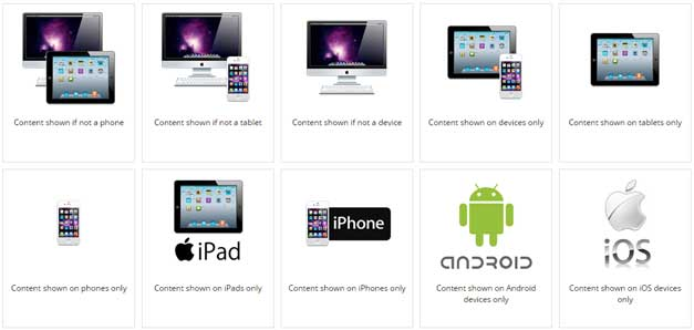 Device Shortcodes